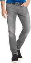 Armani Jeans Men's Slim-Fit Comfort Stretch Jeans, Grey Wash