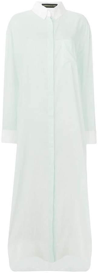 Alexandre Vauthier oversized shirt