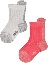 Molo Pack of 2 Nitt Socks