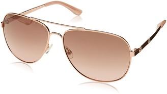Juicy Couture Women's Ju 589/s Aviator Sunglasses ROSE GOLD 59 mm