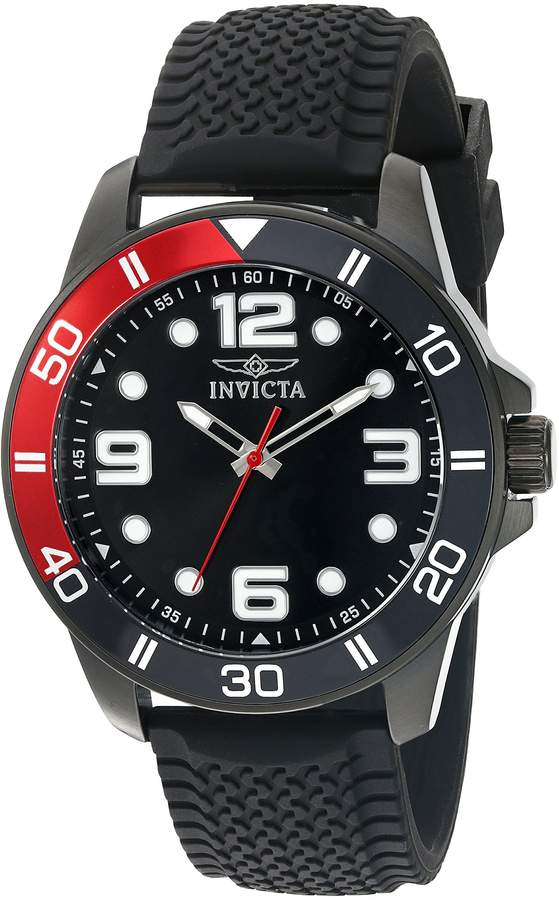 Invicta Men's 'Pro Diver' Quartz Stainless Steel Casual Watch (Model: 21852)