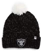 '47 Fiona Oakland Raiders Pom Beanie
