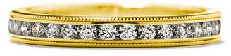 Hearts On Fire 18K 0.26 Ct. Tw. Diamond Eterne Milgrain Anniversary Ring