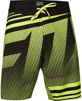 Fox Racing Fox - Mens Static Boardshorts, 38, Fluorescent Yellow