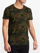 Samsoe & Samsoe Arley O-n T-shirt, Camouflage