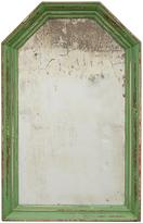 Rejuvenation Chippy Green-Framed Mirror