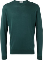 John Smedley slight v-neck jumper - men - Cotton - S