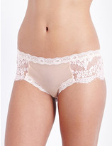 Mimi Holliday Mimosa smooth mesh hipster briefs