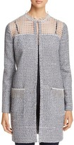 T Tahari Kora Embellished Coat