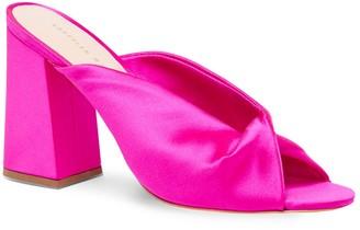 Loeffler Randall Laurel Block Heel Satin Sandals