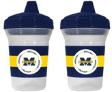 Baby Fanatic Michigan Wolverines Sippy Cups - 2-Pack