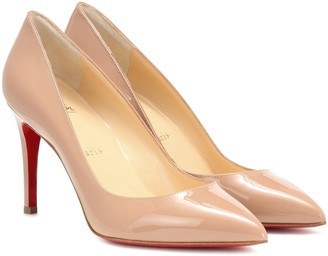 Christian Louboutin Pigalle 85 patent leather pumps