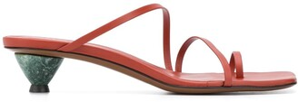 Neous Axis asymmetric sandals