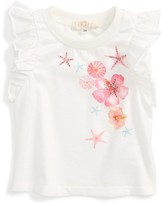 Truly Me Infant Girl's Ruffle Tank
