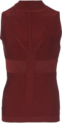Cushnie Fitted Knit Sweater