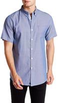 Micros Woven Button Down Collar Regular Fit Shirt