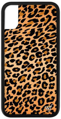 Wildflower Leopard Phone Case XS/X