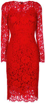 Dolce & Gabbana lace dress - women - Silk/Cotton/Polyamide/Viscose - 42