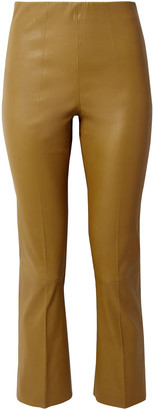 By Malene Birger Florentina Leather Slim-leg Pants
