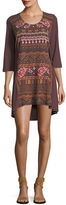 Johnny Was Waleska Embroidered Tunic, Plus Size