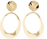 Ippolita Goddess Hammered 18-karat Gold Earrings - one size