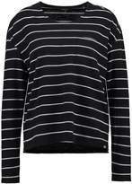 Superdry BOAT Long sleeved top black/ecru