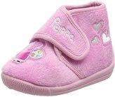 Peppa Pig Girls' PP000193 Hi-Top Slippers,9 Child UK 27 EU