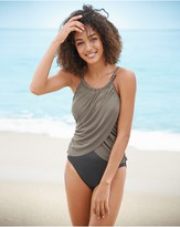 Magicsuit Lisa Beaded-Neck One-Piece Swimsuit