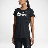 Nike Dry Miler (New York 2016) Women's Short Sleeve Running Top