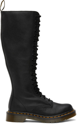 Dr. Martens Black Virginia Knee-High Boots