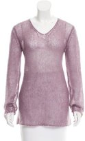 Chanel Mohair Open Knit Sweater