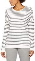 Esprit Women's 017ei1j003-Streifensweatshirt Sweatshirt