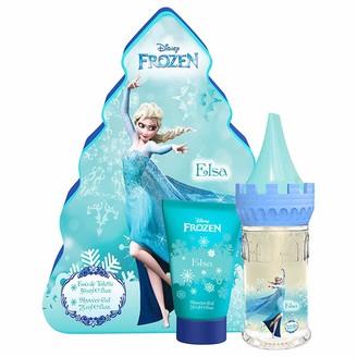 Disney Frozen Elsa 2 Piece Set (1.7 Oz Eau De Toilette Spray + 2.5 Oz Shower Gel)