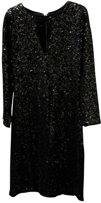 Abercrombie & Fitch Black Glitter Dress for Women