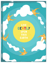 Live Gently Wall Art (Print)