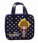Black Temptation Cute Cartoon Lunch Tote Bag Reusable Lunch Box Bag For Kids