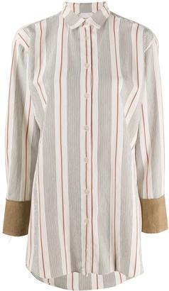 Alysi Stripe-Print Shirt