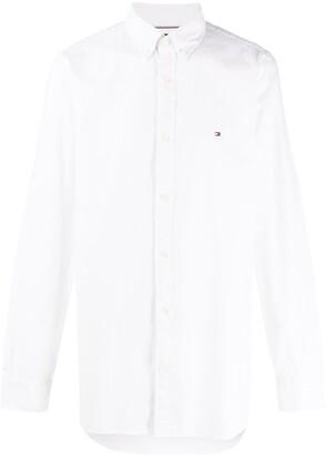 Tommy Hilfiger Slim-Fit Embroidered Logo Shirt