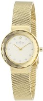 Skagen Women's 456SGSG Leonora Gold Mesh Watch