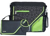 JJ Cole Metra Diaper Bag, Midnight Clover by