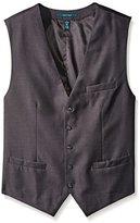 Perry Ellis Men's Big-Tall Solid Suit Vest