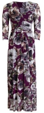 Connected Floral-Print Maxi Dress