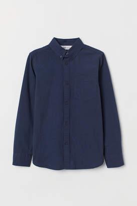 H&M Seersucker Shirt