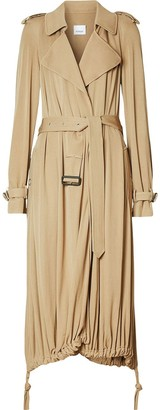 Burberry cape detail trench coat