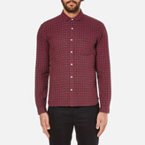 Oliver Spencer Eton Collar Shirt Liscard Red