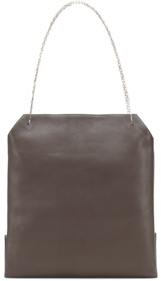 The Row Lunch Medium leather shoulder bag
