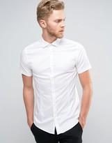Jack and Jones Short Sleeve Super Slim Smart Shirt
