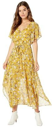 Show Me Your Mumu Paloma Flutter Dress (Flirtin' Floral) Women's Clothing
