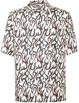 Alexander Wang Hawaiian short sleeved shirt - men - Silk - 42