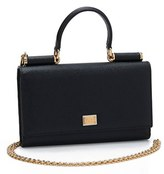 Dolce & Gabbana Women's Wallet On A Chain - Black